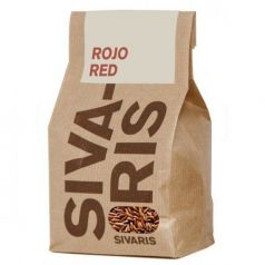 Arroz Rojo (papel kraft) 500gr. Sivaris. 6 Unidades