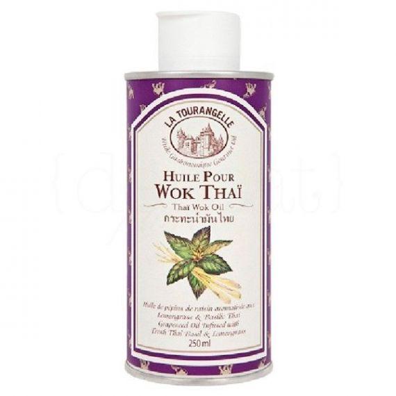 Aceite Thaï Wok 25cl. La Tourangelle. 6 Unidades