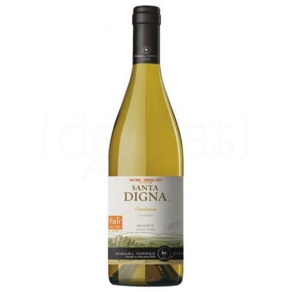 Santa Digna Chardonnay 75cl. Miguel Torres Chile. 6 Unidades