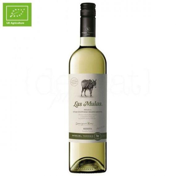 Las Mulas Sauvignon Blanc 75cl. Miguel Torres Chile. 6 Unidades