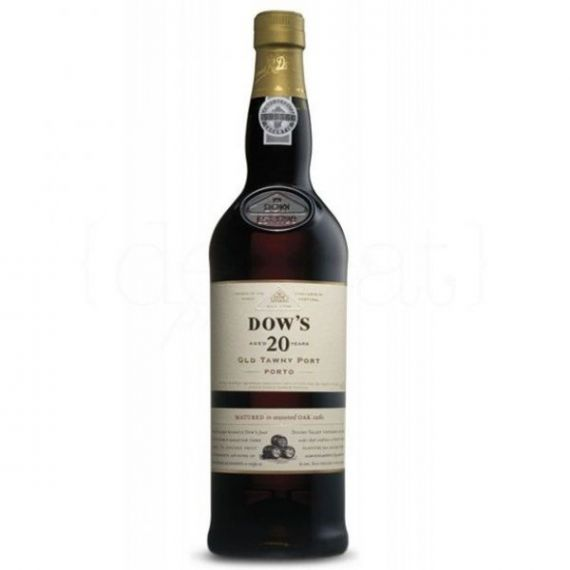 Dow\'s 20 Years Old Tawny Port 75cl. Porto Dow\'s. 3un.