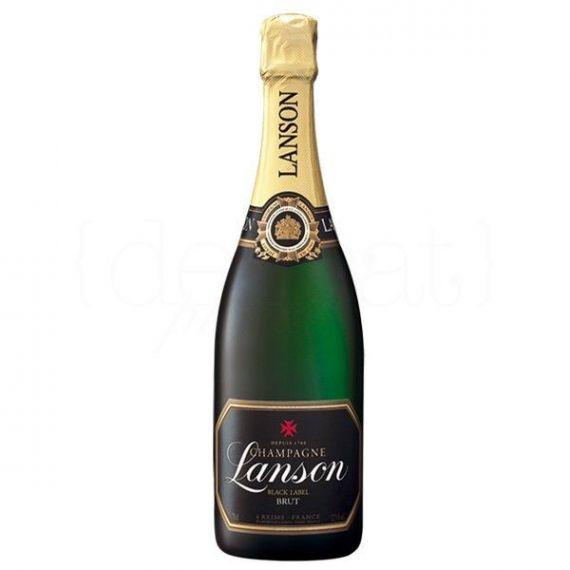 Black Label Brut 1,5l. Champagne Lanson. 3 Unidades