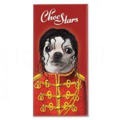 Michael Jackson 100gr. ChocStars. 10 Unidades
