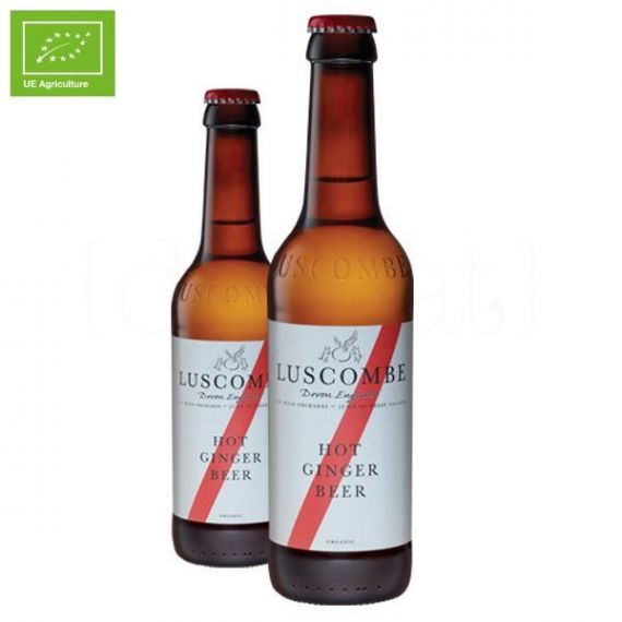 Hot Ginger Beer 27cl. Luscombe. 24 Unidades