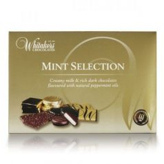 Mint Selection 225gr. Whitakers Chocolates. 8un.