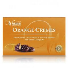 Orange Cremes 150gr. Whitakers Chocolates. 14 Unidades