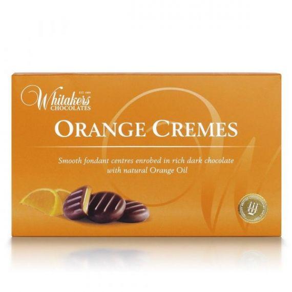 Orange Cremes 150gr. Whitakers Chocolates. 14 Unidades