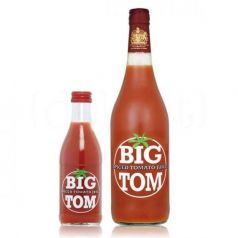 Zumo de Tomate picante Big Tom 25cl. James White. 24 Unidades