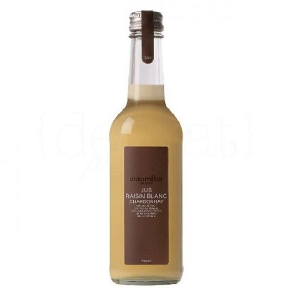 Zumo de Uva Chardonnay 33cl. Alain Milliat. 12 Unidades