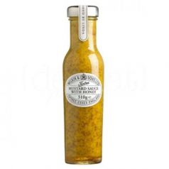 Salsa de mostaza con miel 285gr. Tiptree. 6 Unidades