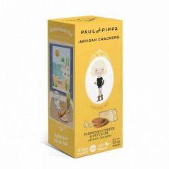 Galletas de Queso Parmesano 100gr. Paul & Pippa. 6 Unidades