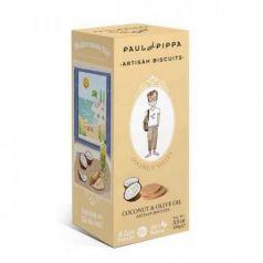 Galletas de Coco 100gr. Paul & Pippa. 6 Unidades