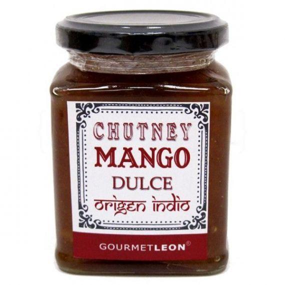 Chutney de mango dulce 250gr. Gourmet Leon. 12 Unidades