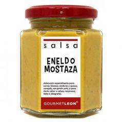 Salsa de Eneldo y Mostaza 160ml. Gourmet Leon. 12 Unidades