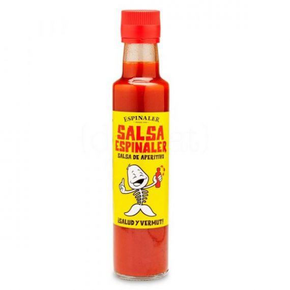 Salsa aperitivo 1/4 250ml. Espinaler. 12 Unidades