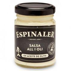 Salsa Alioli 140gr. Espinaler. 12 Unidades