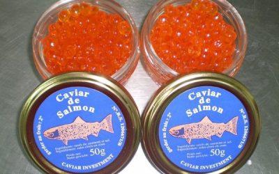 ¿Qué es el caviar rojo?