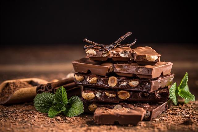 Formas de combinar el chocolate