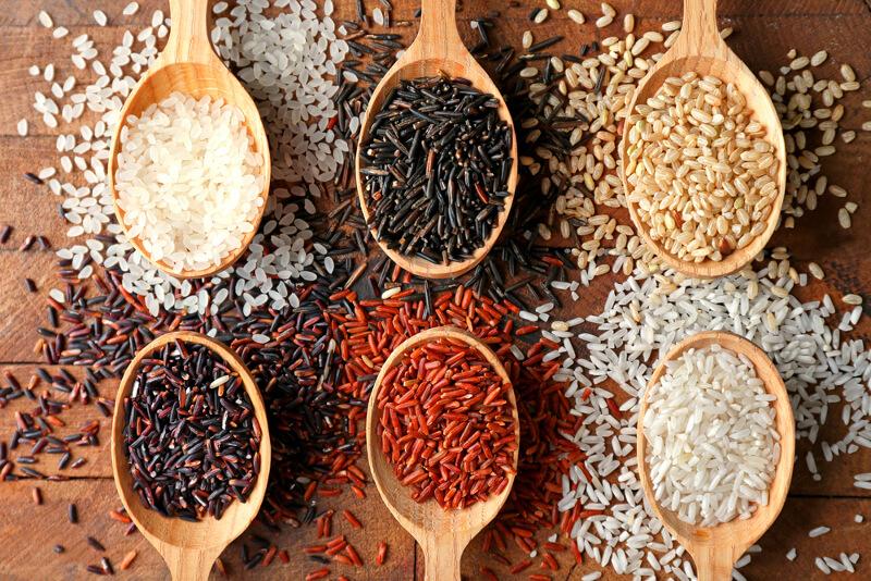 Los tipos de arroz que puedes comprar